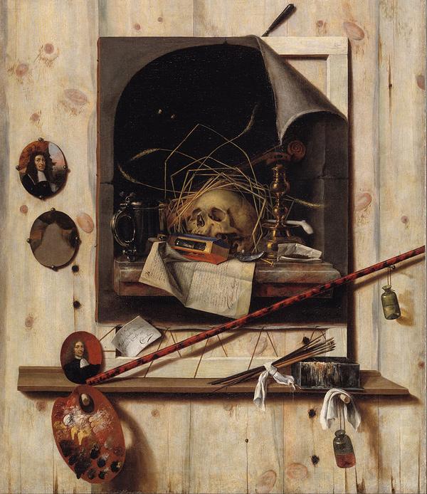 Cornelis Norbertus Gysbrechts - Trompe l'oeil (Quelle: Wikipaintings)
