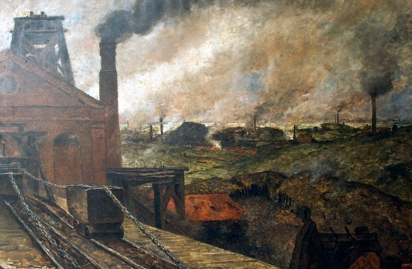 Constantin Meunier - Black Country (Quelle: Wikimedia Commons)