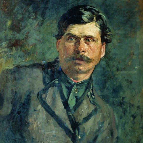 Ilya Repin - A soldier (Quelle: Wikiart)