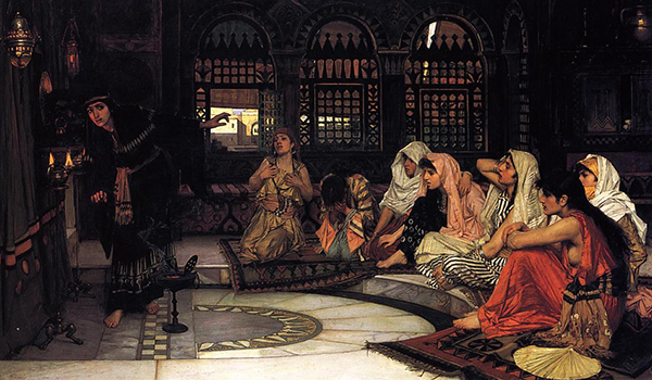 John William Waterhouse - Consulting the oracle (Quelle: Wikimedia Commons)